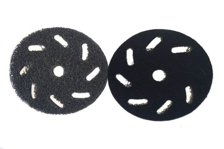 Turbo fiber pad velcro
