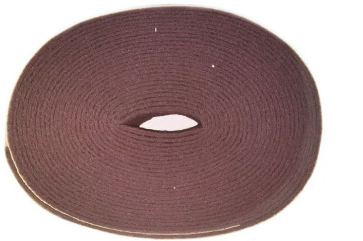 roll 10 m x 100 mm thin synthetic cloth AVF soft bordeaux