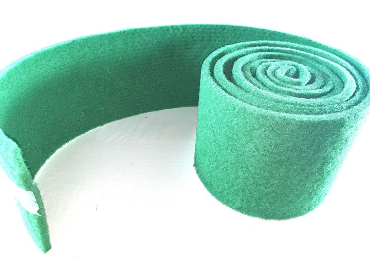 roll 10 m x 100 mm thin synthetic cloth HF vert