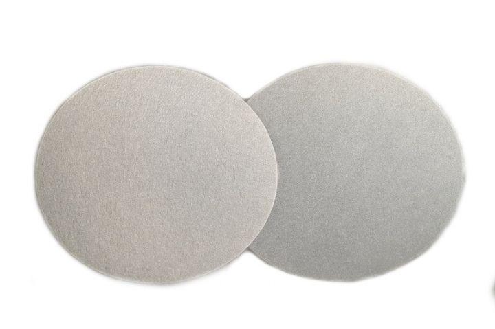 400 X 25 mm disque feutre simple